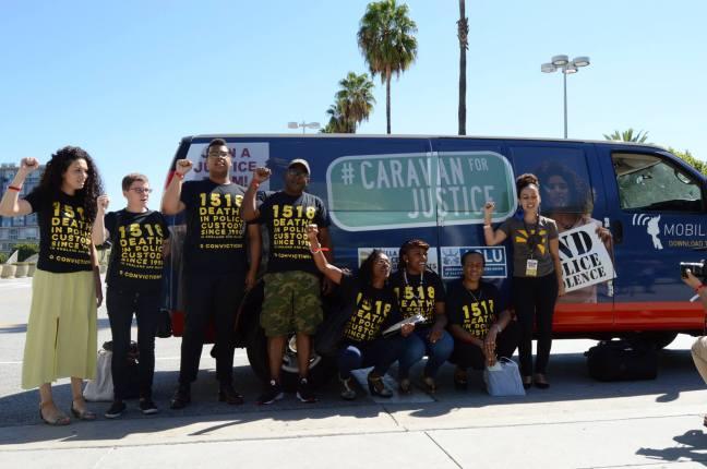 caravan for Justice