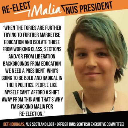 beth nus scotland endorsement